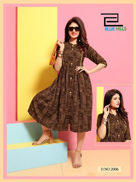 Cola Fashionable Bh's Munch Kurti