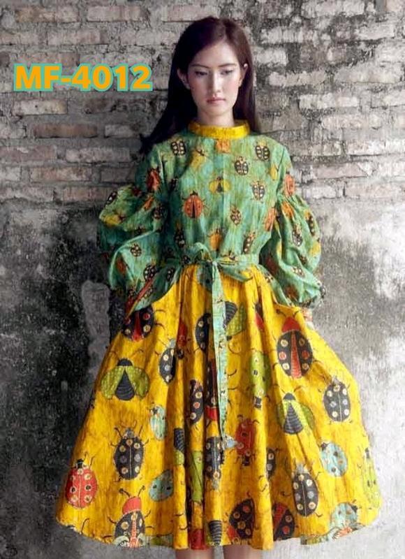 Harvi Vol-3 Yellow Green One Piece Dress