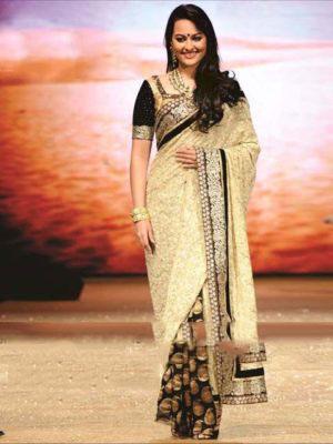 Pramukh Sonakshi Viscos Bollywood Saree - 236