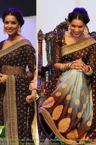 Bipasha Bridal Queen Saree ( 261 ) With Net & Row Silk Blouse